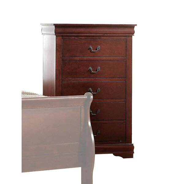 Nebeker 5 Drawer Chest by Canora Grey