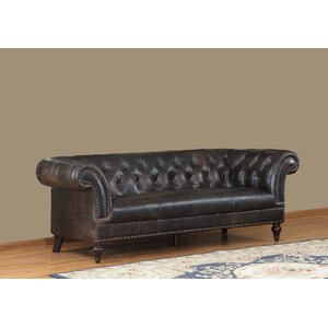 Brooks Leather Chesterfield Sofa Lazzaro Leather