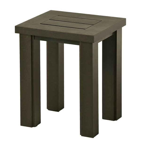 Sebrina Metal Side Table by Latitude Run