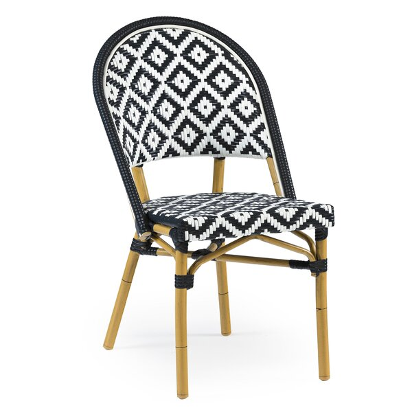 Dipietro Bamboo Stackable Dining Chair by Bungalow Rose