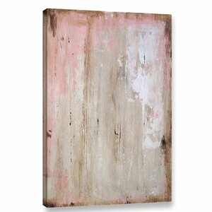'Worn Abstract II' Graphic Art Print on Wrapped Canvas by Union Rustic
