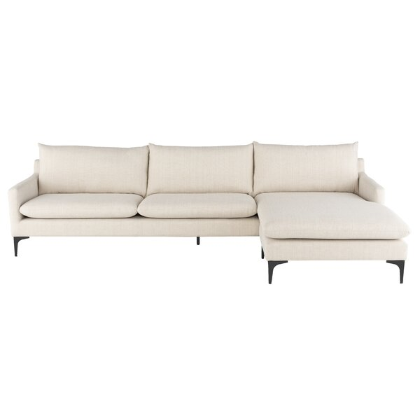 Anders Right Hand Facing Sectional By Nuevo
