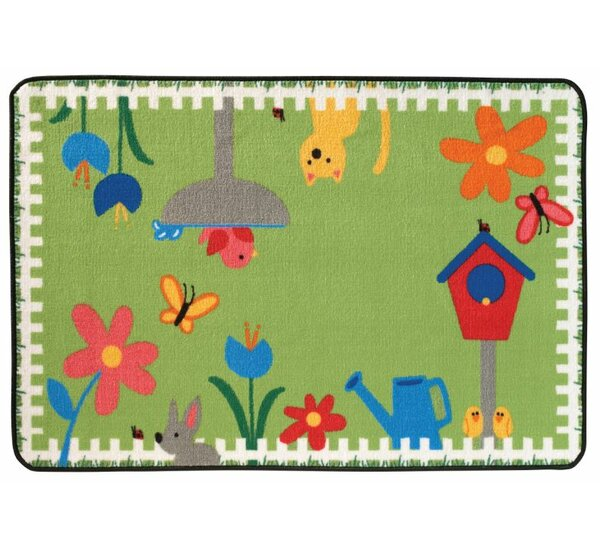 Garden Time Kids Rug by Kids Value Rugs