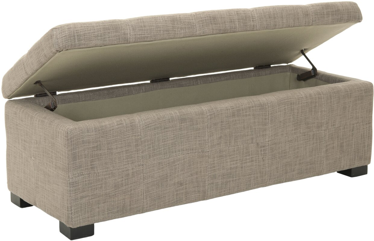 Upholstered Storage Entryway Bench: Park Upholstered Storage Bench & Reviews