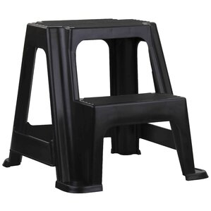 2-Step Plastic Step Stool  sc 1 st  Wayfair & Plastic Ladders u0026 Step Stools Youu0027ll Love | Wayfair islam-shia.org