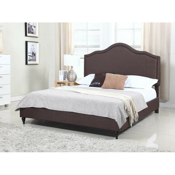 Boydton Upholstered Platform Bed by Charlton Home