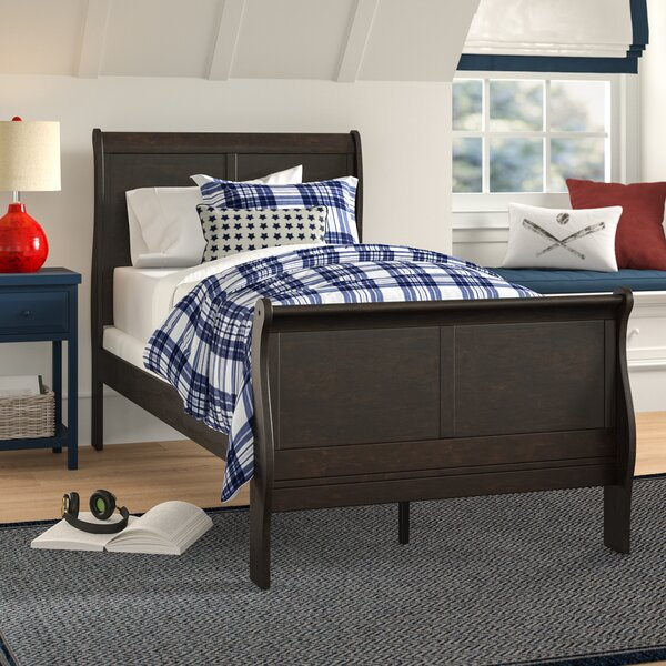 Sophia Twin Sleigh Bed by Grovelane Teen