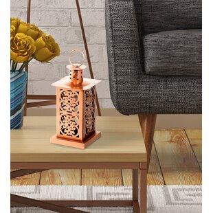 Great choice Metal Lantern By Bungalow Rose