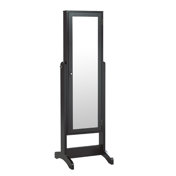 Turrini Jewellery Armoire with Mirror by Latitude Run Latitude Run