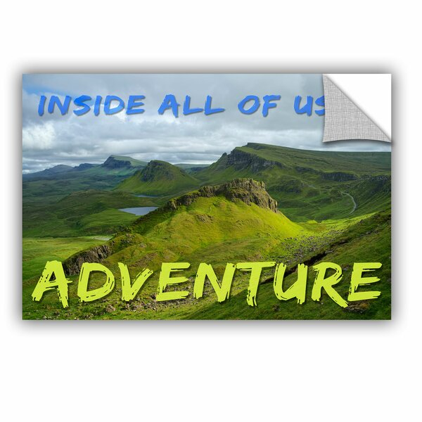 Adventure Removable Wall Decal by Zipcode Design