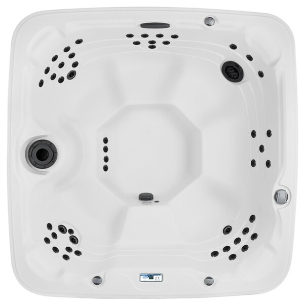 Coronado DLX 7-Person 65-Jet Spa with Waterfall and Ozone System by Lifesmart Spas