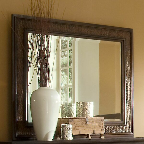 Kingston Isle Rectangular Dresser Mirror by Progressive Furniture Inc.