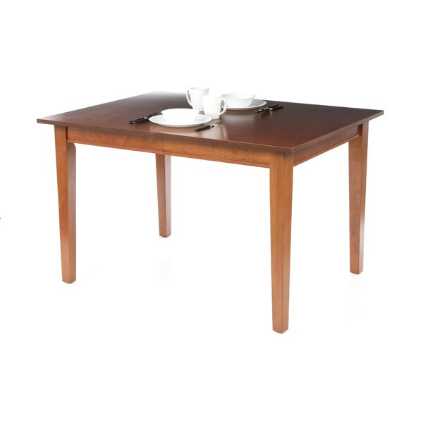 Ferryhill Extendable Solid Wood Dining Table by Three Posts