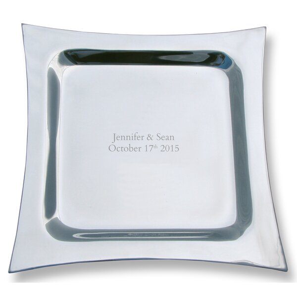 Personalized Pewter Platter by Signature Keepsakes