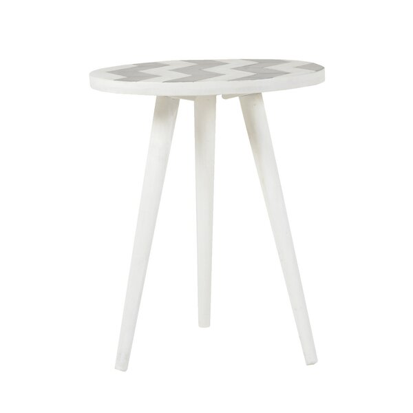 Charmain Mango End Table by Bungalow Rose