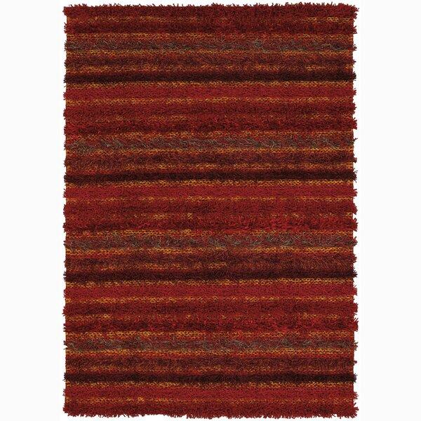 Wyant Hand Woven Stripe Rug by Brayden Studio