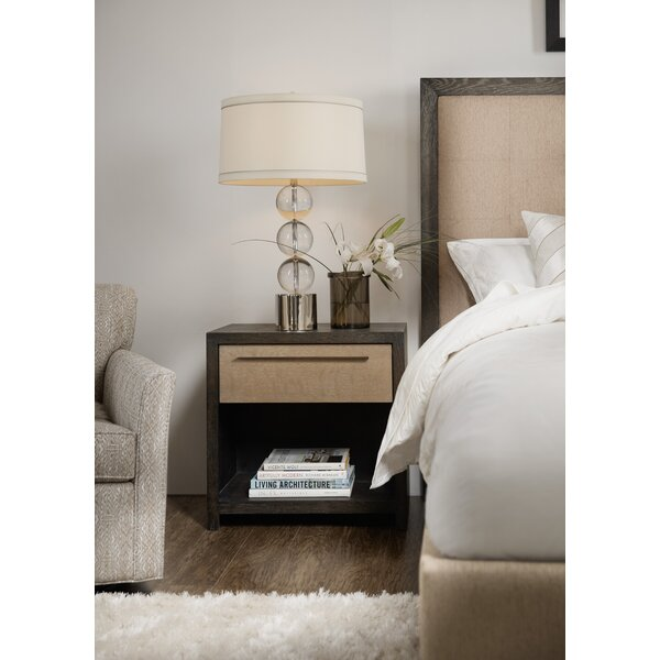 Miramar Point Reyes Indio 1 Drawer Nightstand by Hooker Furniture