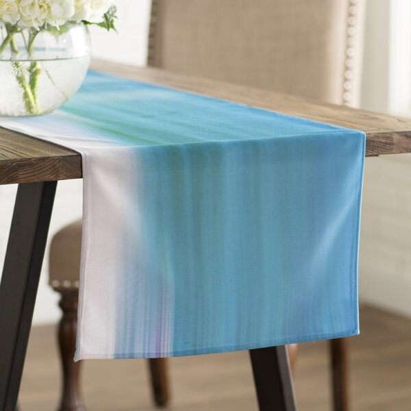 Ann Barnes Sun and Sea Table Runner by East Urban Home