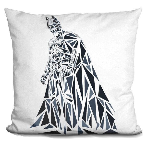 Batman Dark Knight Throw Pillow by LiLiPi