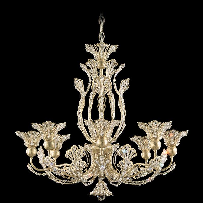 Schonbek Chandelier Wayfair: Schonbek Rivendell 8-Light Candle-Style Chandelier
