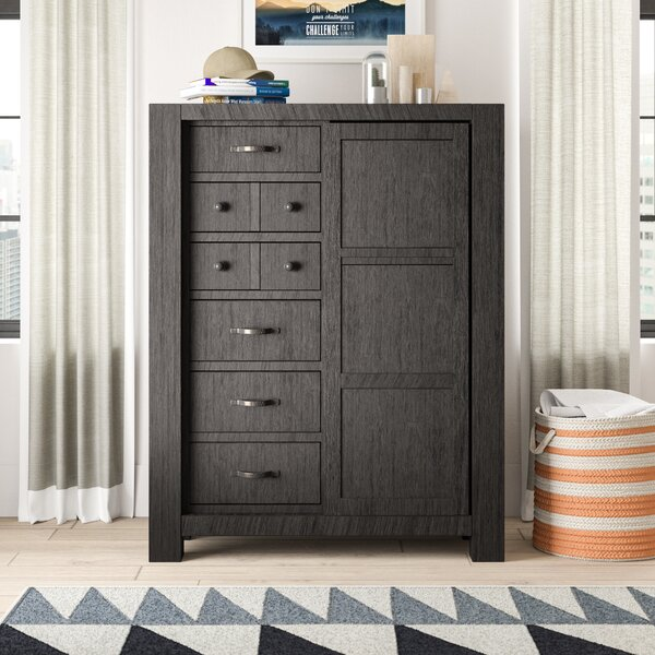 Wendy 6 Drawer Gentleman's Chest by Trule Teen