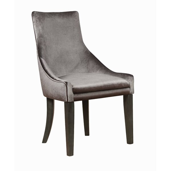 Letman Upholstered Dining Chair (Set of 2) by Rosdorf Park