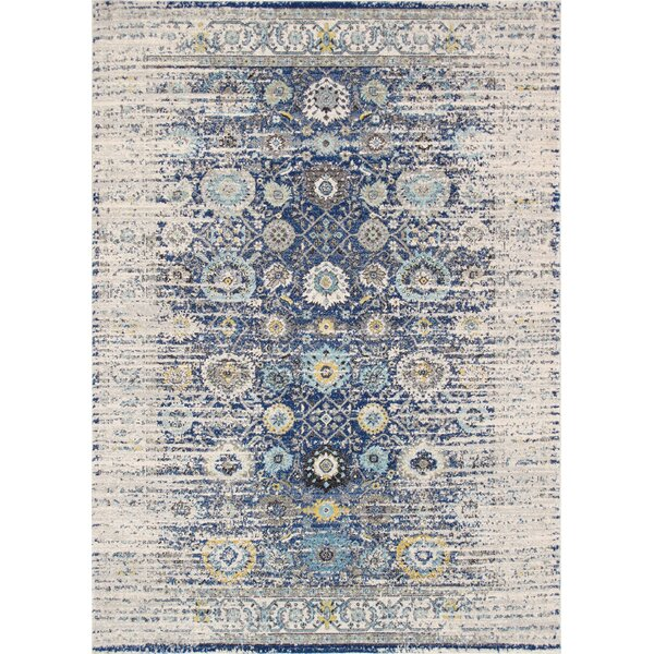 Chelsea Navy/Ivory Area Rug by Pasargad