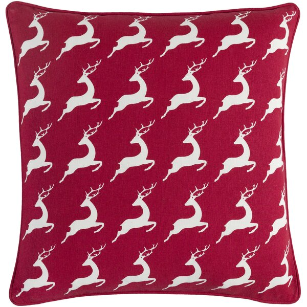 Dunphy Cotton Throw Pillow by Charlton Home
