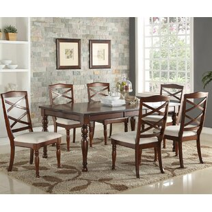 Read Reviews 7 Piece Dining Set by Infini Furnishings