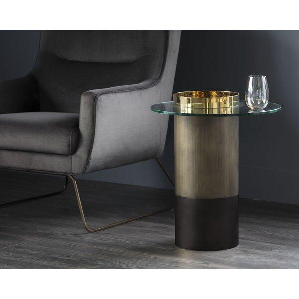 Ikon End Table by Sunpan Modern