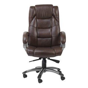 genuine leather office chairs wayfair co uk