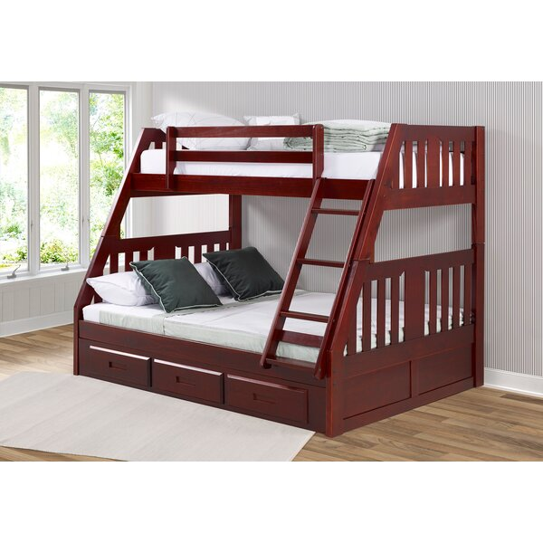 Dubbo Twin over Full Bed with Drawers by Harriet Bee