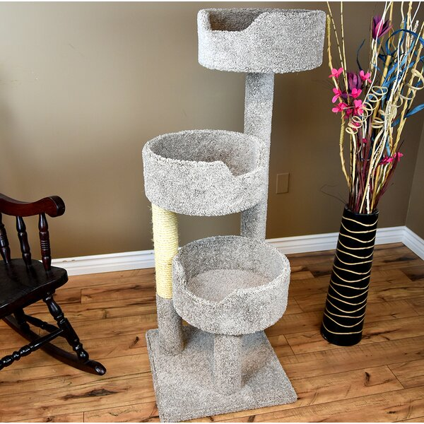 52 Deluxe Cat Tree By New Cat Condos.