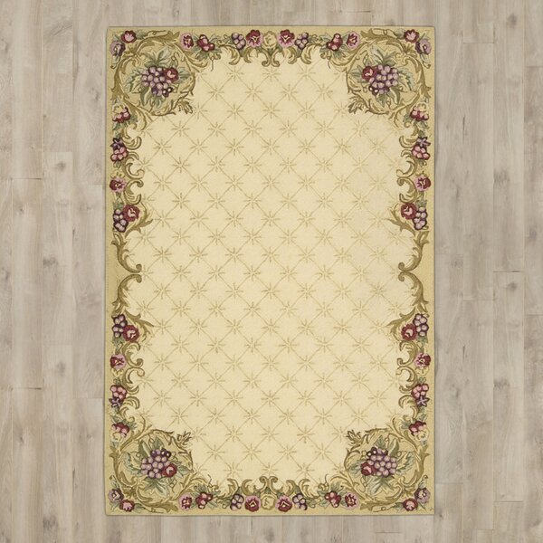 Westin Hand-Hooked Ivory Area Rug by Astoria Grand