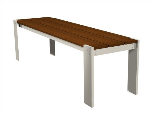 Luma Aluminum Picnic Bench by Modern Outdoor