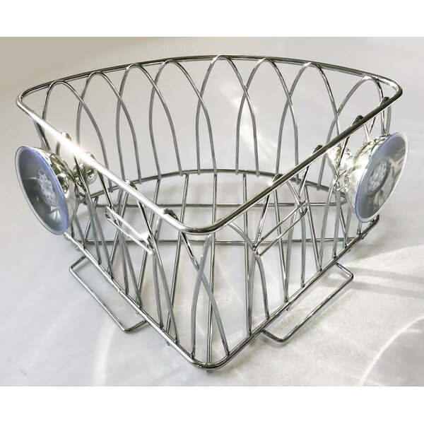 Metal Wall Mounted Corner Shower Caddy by Wee's Beyond