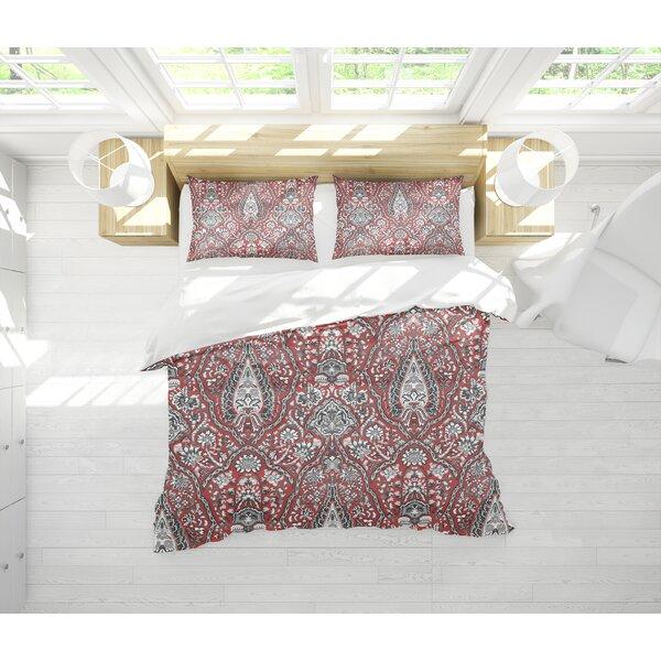 Annagrove Coral Comforter Set