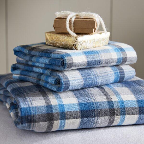 Spencer Cotton Flannel Sheet Set by Eddie Bauer