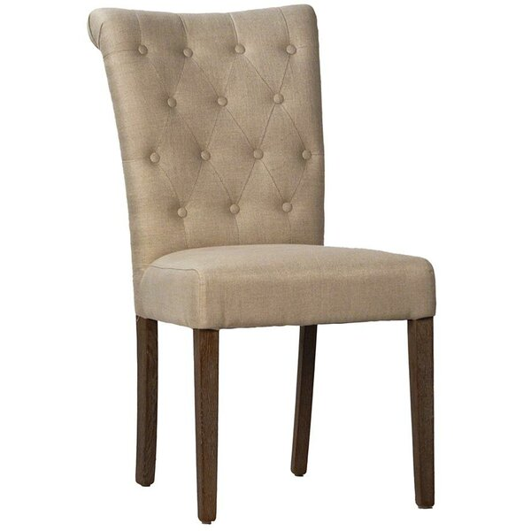 Memering Upholstered Dining Chair by Highland Dunes