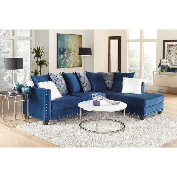 Price Decrease Cloutier Right Hand Facing Sectional by Mercer41 by Mercer41
