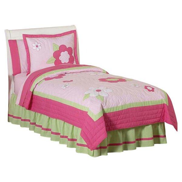 Flower 3 Piece Full/Queen Comforter Set by Sweet Jojo Designs