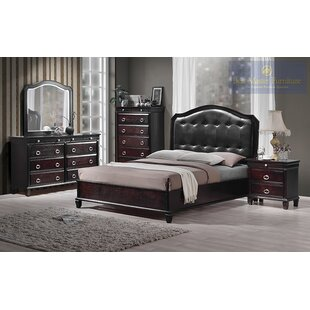 Tiffany Queen Platform 6 Piece Bedroom Set By BestMasterFurniture