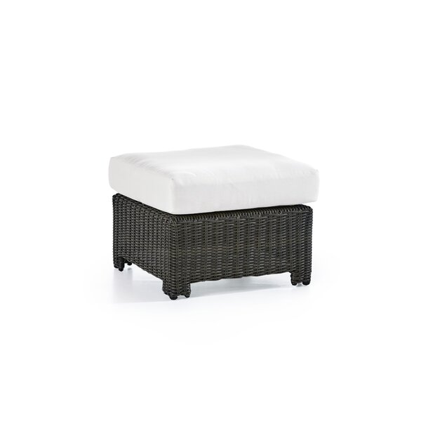 Losh Outdoor Ottoman by Rosecliff Heights