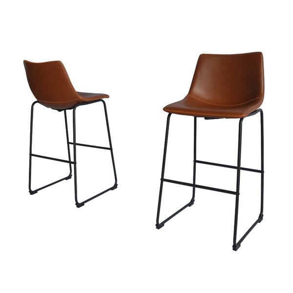 Hailley 29 Bar Stool (Set of 2) by 17 Stories