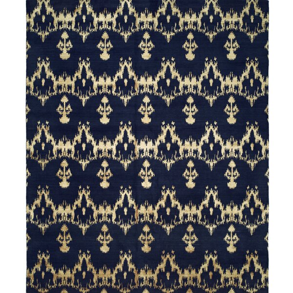Hand-Woven Blue Area Rug by Wildon Home ®