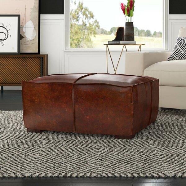 Licon Leather Ottoman