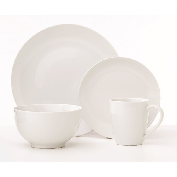 Bullard Classic 16 Piece Dinnerware Set, Service for 4 by Ebern Designs