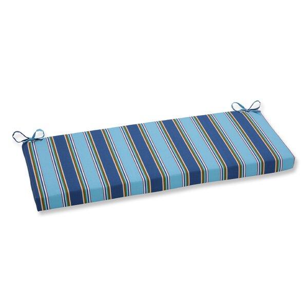 Bonfire Regata Indoor/Outdoor Bench Cushion by Pillow Perfect