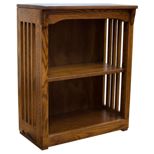 Sanfilippo High Mission Spindle Standard Bookcase by Millwood Pines