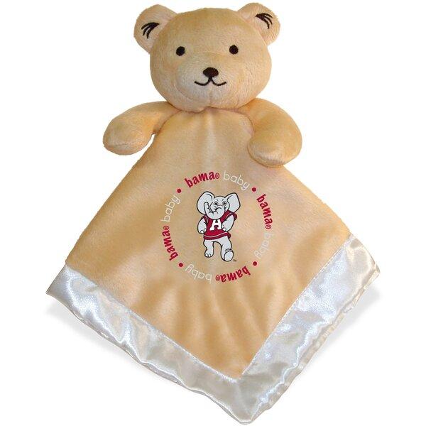 NCAA Snuggle Bear Baby Blanket by Baby Fanatic